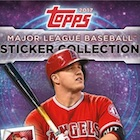 2017 Topps MLB Sticker Collection Baseball