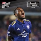 2017 Topps Now MLS Soccer Cards