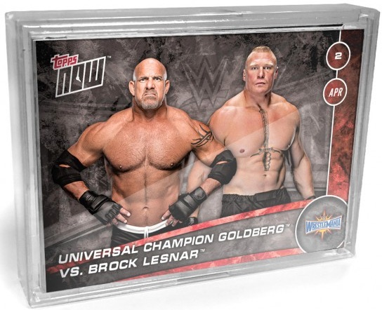 2017 Topps Now WWE Trading Cards 2
