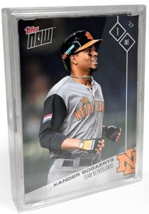 2017 Topps Now World Baseball Classic Team Sets - Final Print Runs and Bonus Cards 26