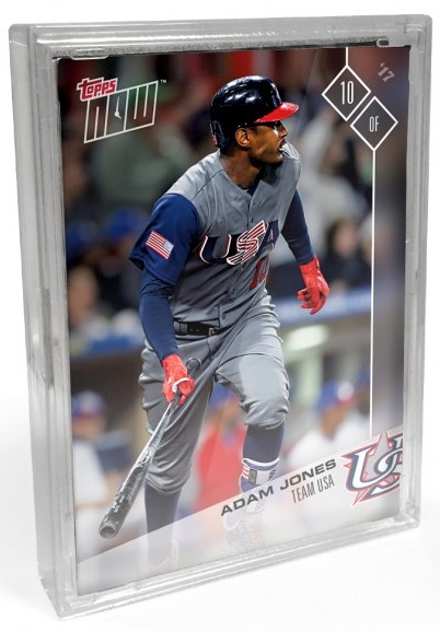 2017 Topps Now World Baseball Classic Team Sets - Final Print Runs and Bonus Cards 1