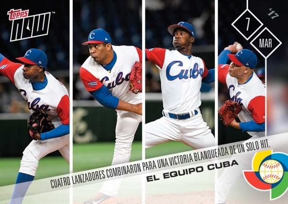 2017 Topps Now World Baseball Classic Cards - USA Autographs 21