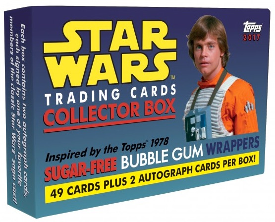 2017 Topps Star Wars 1978 Sugar Free Wrappers Trading Cards 1