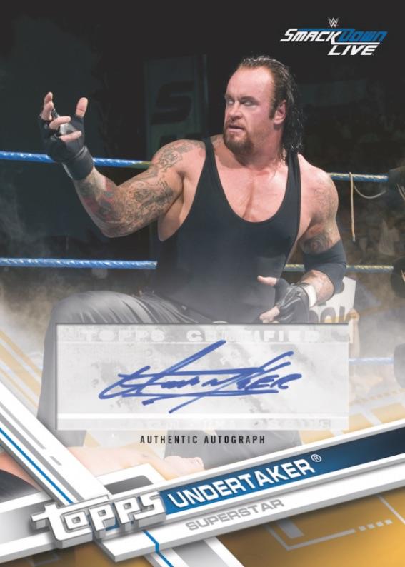 2017 Topps WWE Wrestling