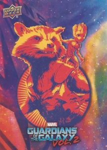 2017 Upper Deck Guardians of the Galaxy Vol. 2 Promo
