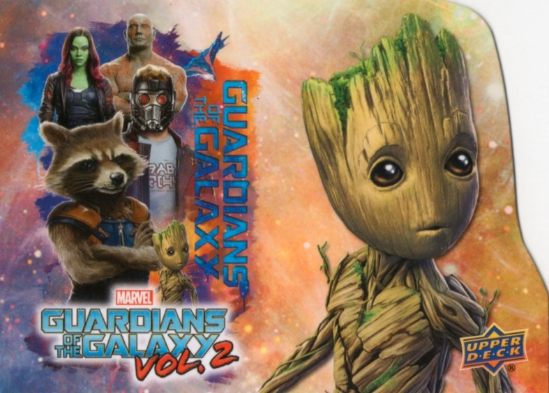 2017 Upper Deck Guardians of the Galaxy Vol. 2 Promo Cards 22