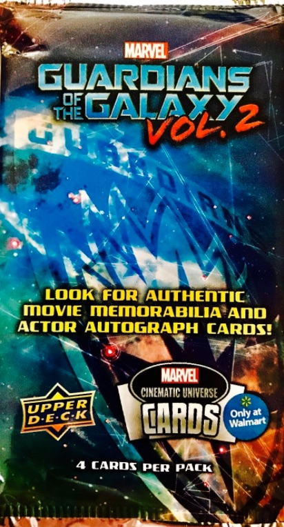 Upper Deck Guardians of the Galaxy Vol. 2 Promo
