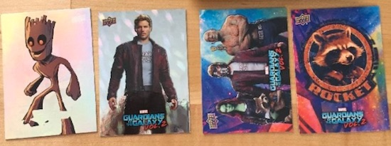 2017 Upper Deck Guardians of the Galaxy Vol. 2 Promo Cards 1
