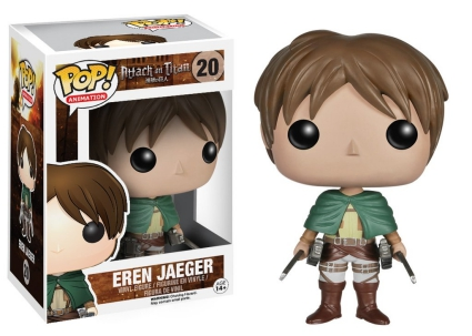 Ultimate Funko Pop Attack on Titan Figures Checklist and Gallery 3