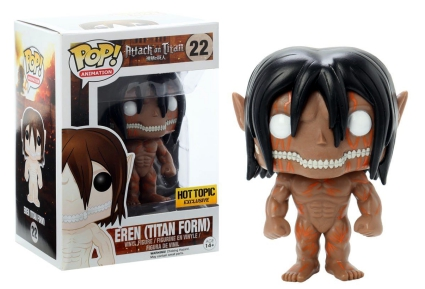 Ultimate Funko Pop Attack on Titan Figures Checklist and Gallery 7