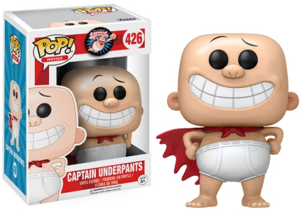 2017 Funko Pop Captain Underpants Vinyl Figures 21