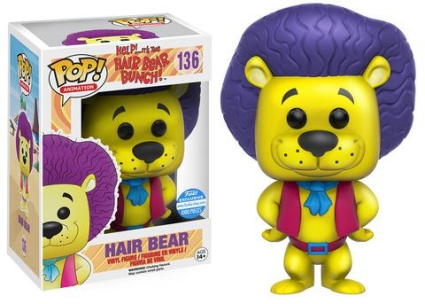 Funko Pop Hair Bear Bunch Vinyl Figures 24
