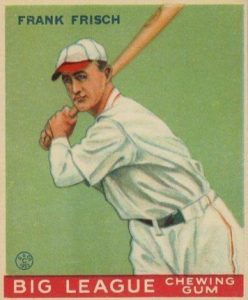 Top 10 Frankie Frisch Baseball Cards 11