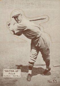 Top 10 Frankie Frisch Baseball Cards 5