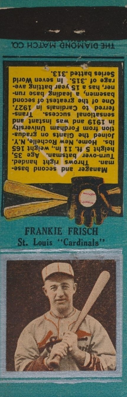 Top 10 Frankie Frisch Baseball Cards 1