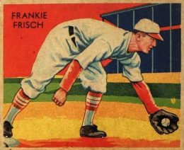 Top 10 Frankie Frisch Baseball Cards 9