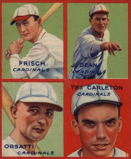 Top 10 Frankie Frisch Baseball Cards 10
