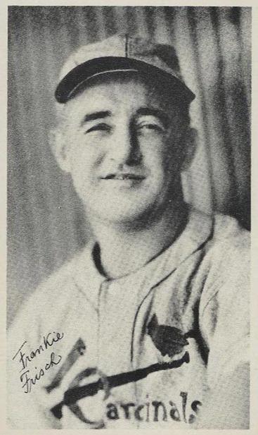 Top 10 Frankie Frisch Baseball Cards 2