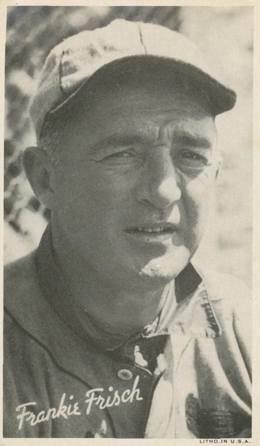 Top 10 Frankie Frisch Baseball Cards 4