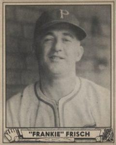 Top 10 Frankie Frisch Baseball Cards 6