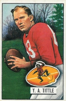 1951 Bowman Football Cards 4