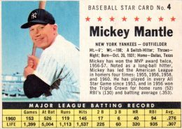 Top 1961 Vintage Baseball Cards 6