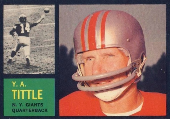 Top 10 Y.A. Tittle Football Cards 3