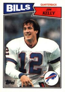 Top 10 Jim Kelly Football Cards 10