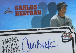 Top 10 Carlos Beltran Baseball Cards 3