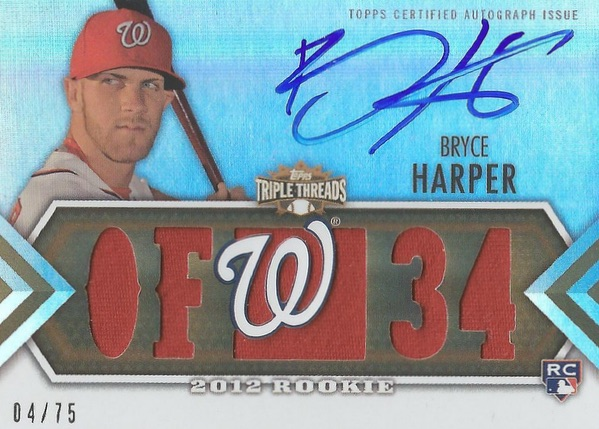 Bryce Harper Rookie Cards Checklist and Autograph Buying Guide 17