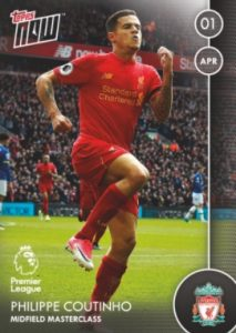 2016-17 Topps Now Premier League Soccer Cards 29