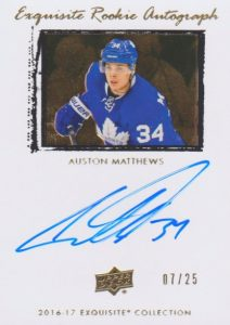 Auston Matthews Rookie Cards Checklist and Gallery 24