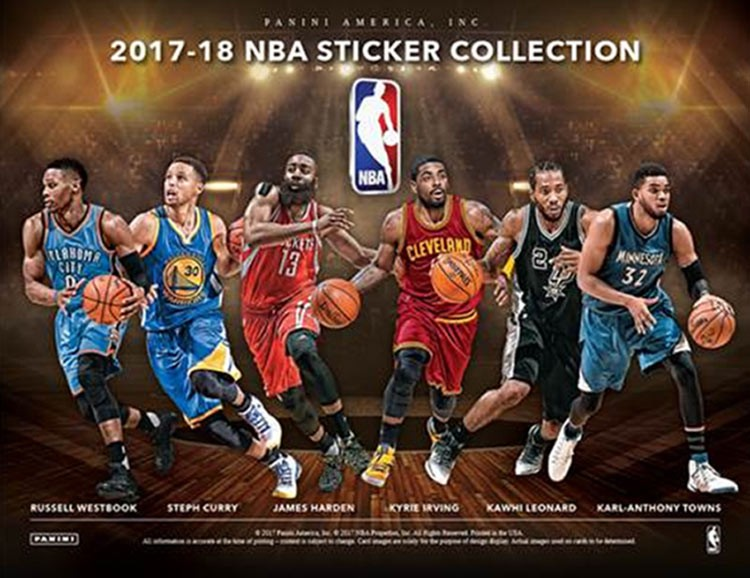 2017-18 Panini NBA Sticker Collection Checklist, Set Info ...