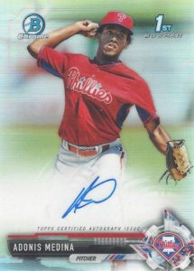 Ultimate 2017 Bowman Chrome Prospect Autographs Breakdown 159