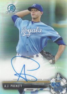 Ultimate 2017 Bowman Chrome Prospect Autographs Breakdown 161