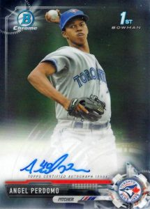 Ultimate 2017 Bowman Chrome Prospect Autographs Breakdown 160