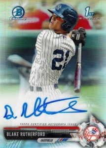 Ultimate 2017 Bowman Chrome Prospect Autographs Breakdown 164