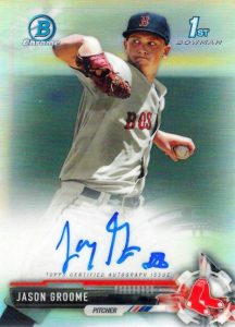 Ultimate 2017 Bowman Chrome Prospect Autographs Breakdown 175