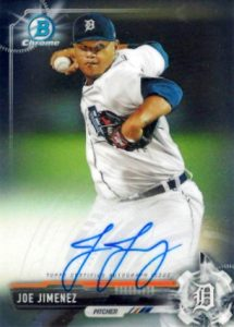Ultimate 2017 Bowman Chrome Prospect Autographs Breakdown 177