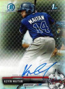 Ultimate 2017 Bowman Chrome Prospect Autographs Breakdown 184