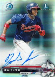 Ultimate 2017 Bowman Chrome Prospect Autographs Breakdown 194
