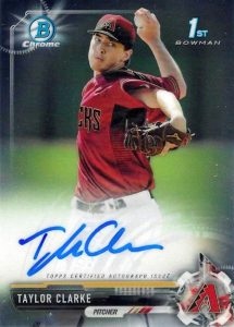 Ultimate 2017 Bowman Chrome Prospect Autographs Breakdown 197