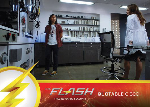 2017 Cryptozoic The Flash Season 2 Trading Cards 33