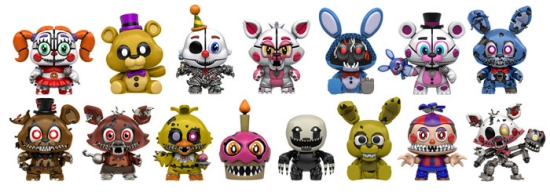 2017 Funko Five Nights at Freddy's Mystery Minis Series 2 3