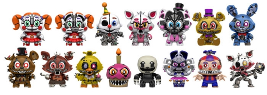 2017 Funko Five Nights at Freddy's Mystery Minis Series 2 5