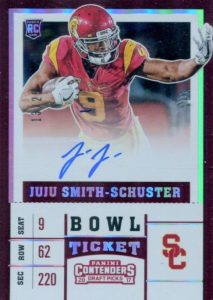 2017 Panini Contenders Draft Picks Football Variations Guide 15