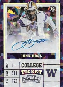 2017 Panini Contenders Draft Picks Football Variations Guide 46