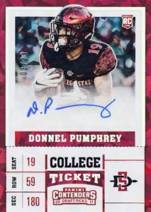 2017 Panini Contenders Draft Picks Football Variations Guide 86