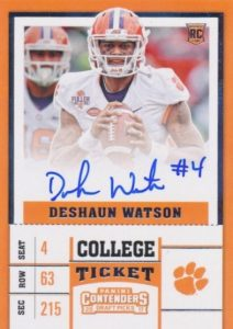 2017 Panini Contenders Draft Picks Football Variations Guide 1