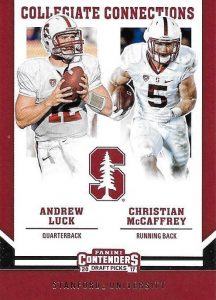 2017 Panini Contenders Draft Picks Football Cards 23